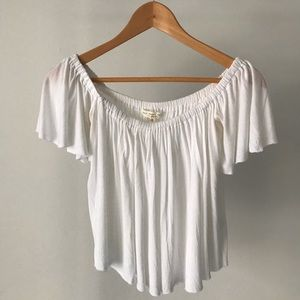Urban Outfitters off-the-shoulder top